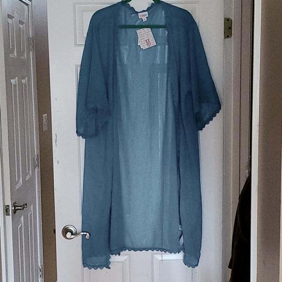 Blue Chloe Kimono